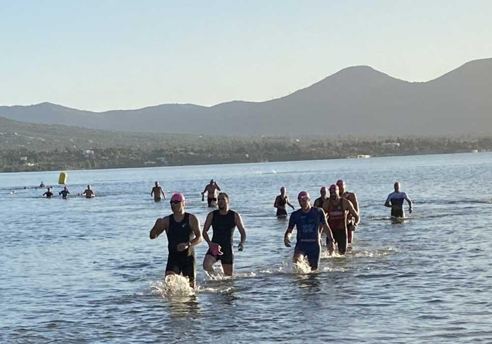 Prova på Triathlon Marmari